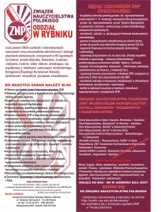 plakat ZNP